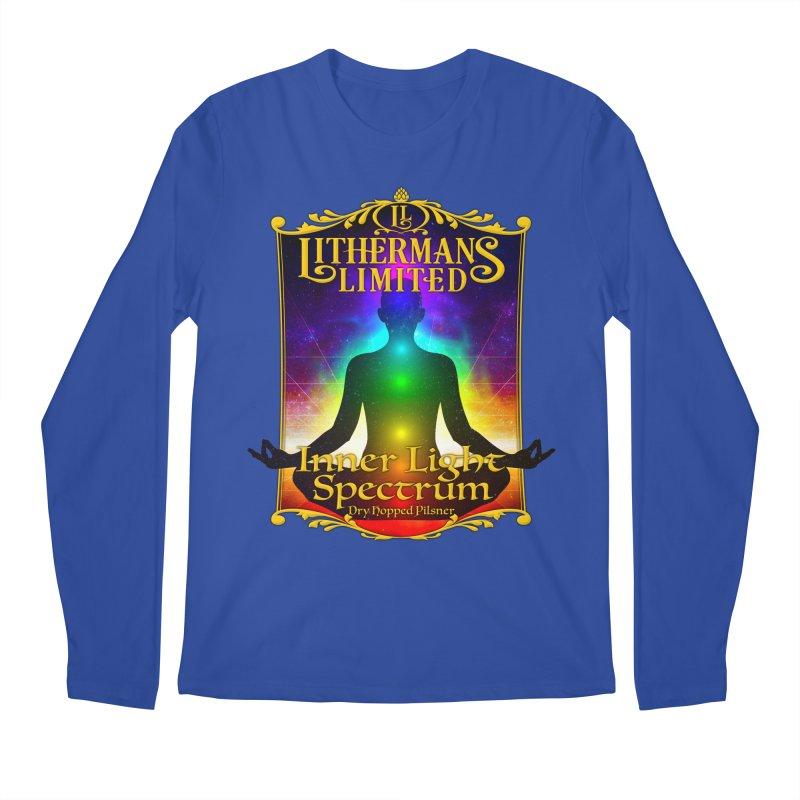 Inner Light Spectrum Men's Regular Longsleeve T-Shirt by Lithermans Limited Print Shop