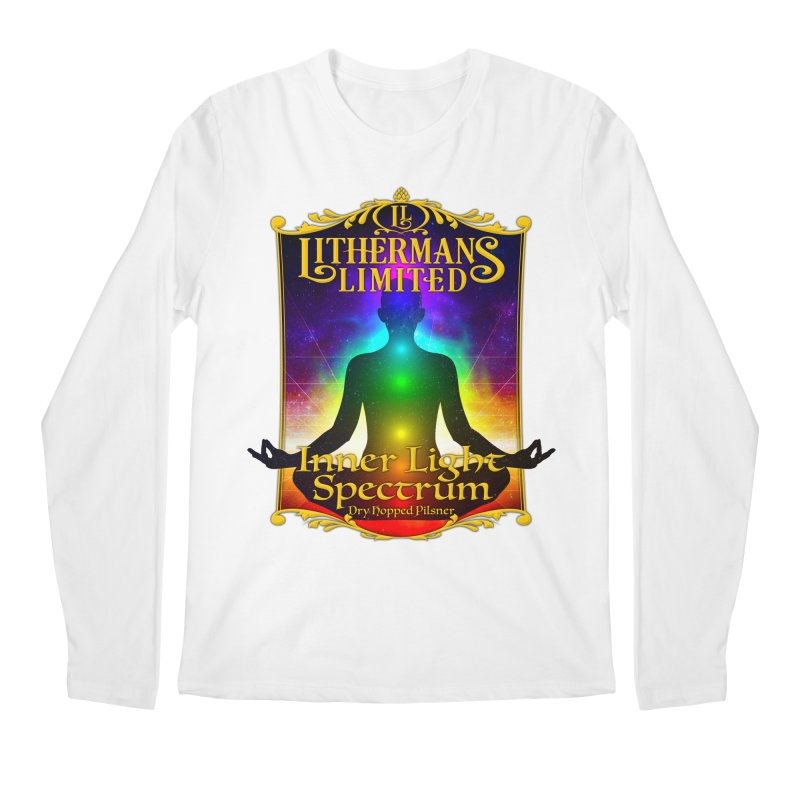 Inner Light Spectrum Men's Regular Longsleeve T-Shirt by Lithermans Limited Print Shop