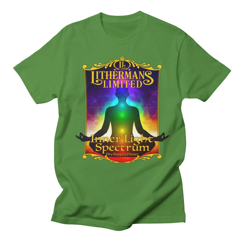 Inner Light Spectrum Men's Regular T-Shirt by Lithermans Limited Print Shop