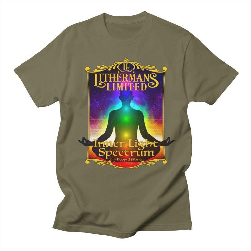 Inner Light Spectrum Men's T-Shirt by Lithermans Limited Print Shop