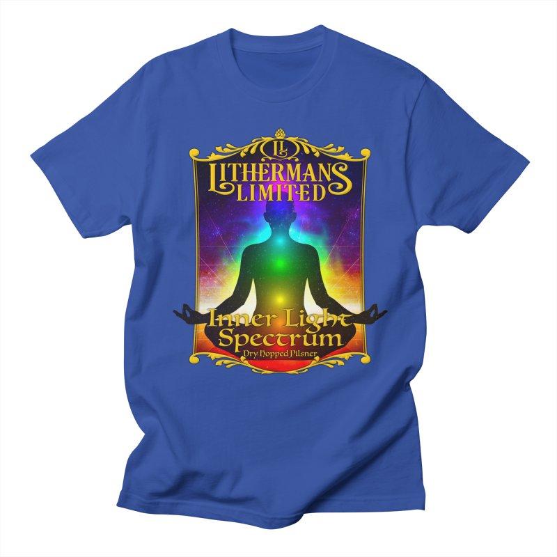 Inner Light Spectrum Women's Regular Unisex T-Shirt by Lithermans Limited Print Shop