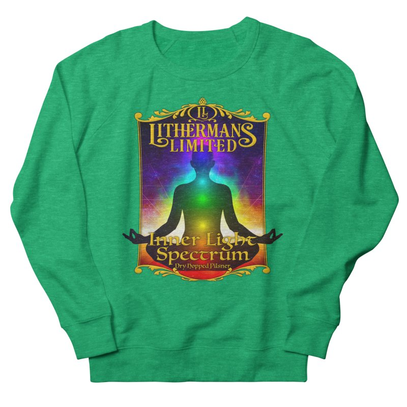 Inner Light Spectrum Women's Sweatshirt by Lithermans Limited Print Shop