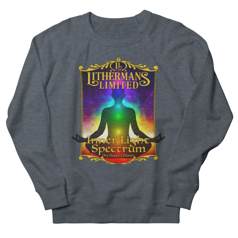 Inner Light Spectrum Women's French Terry Sweatshirt by Lithermans Limited Print Shop
