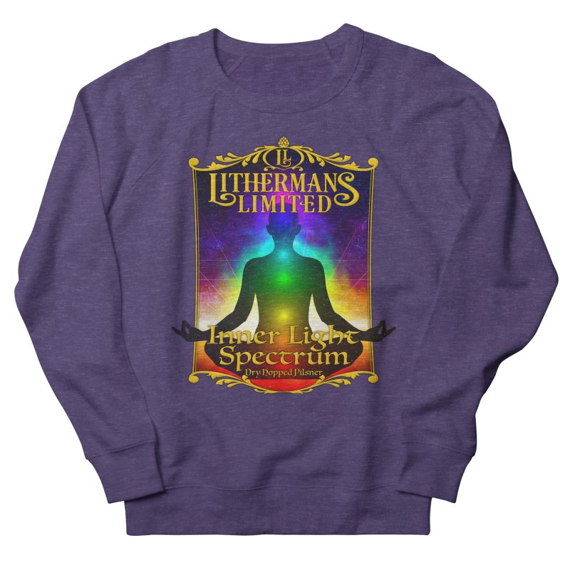 Inner Light Spectrum Men's French Terry Sweatshirt by Lithermans Limited Print Shop