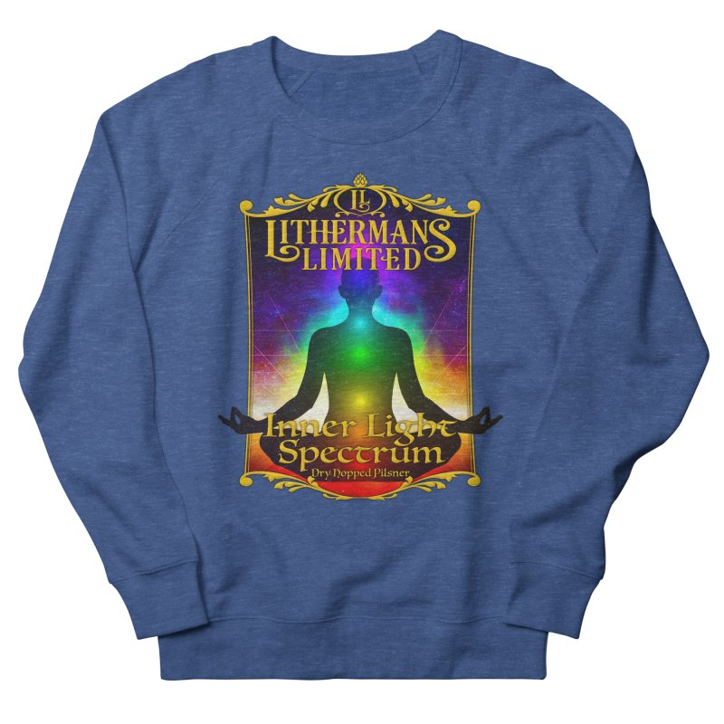 Inner Light Spectrum Men's Sweatshirt by Lithermans Limited Print Shop