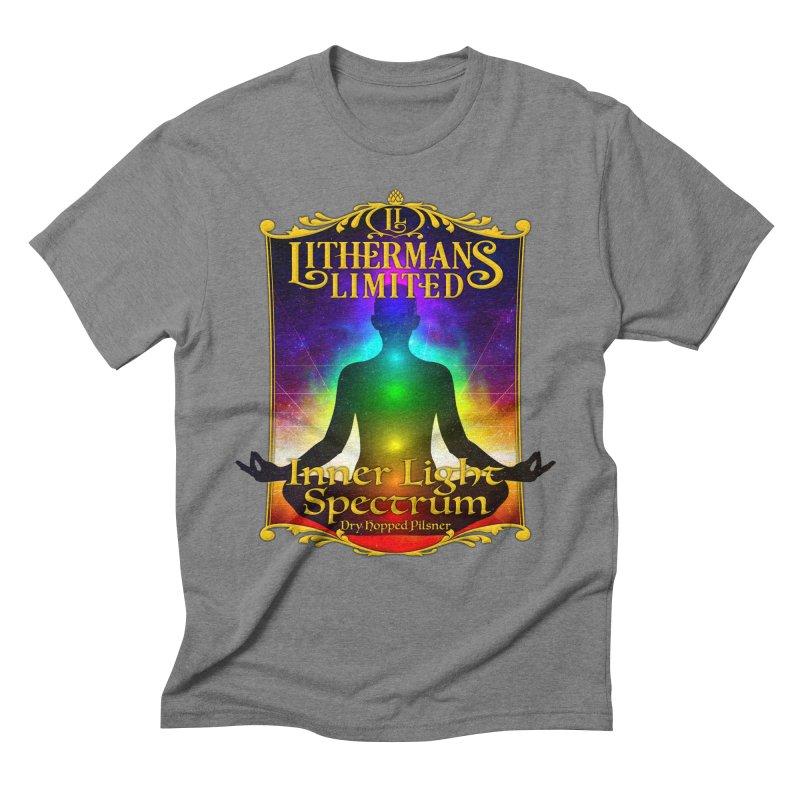 Inner Light Spectrum Men's Triblend T-Shirt by Lithermans Limited Print Shop