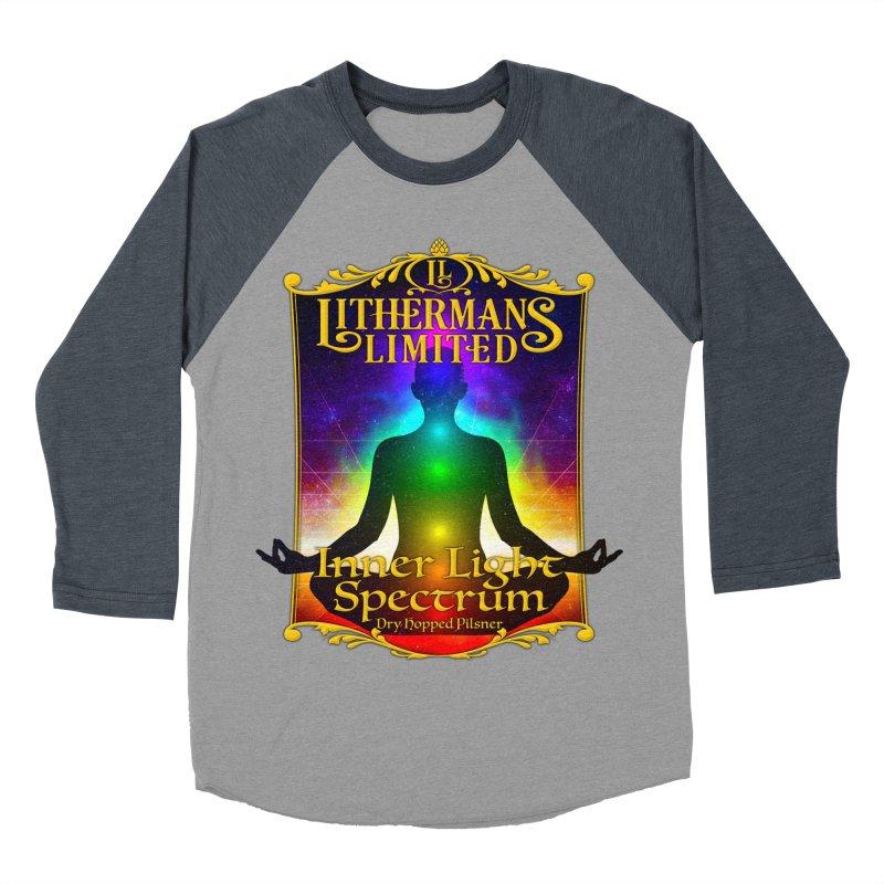 Inner Light Spectrum Women's Baseball Triblend Longsleeve T-Shirt by Lithermans Limited Print Shop