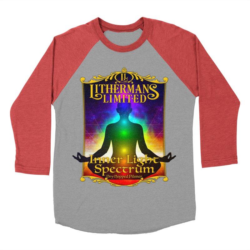 Inner Light Spectrum Men's Baseball Triblend Longsleeve T-Shirt by Lithermans Limited Print Shop