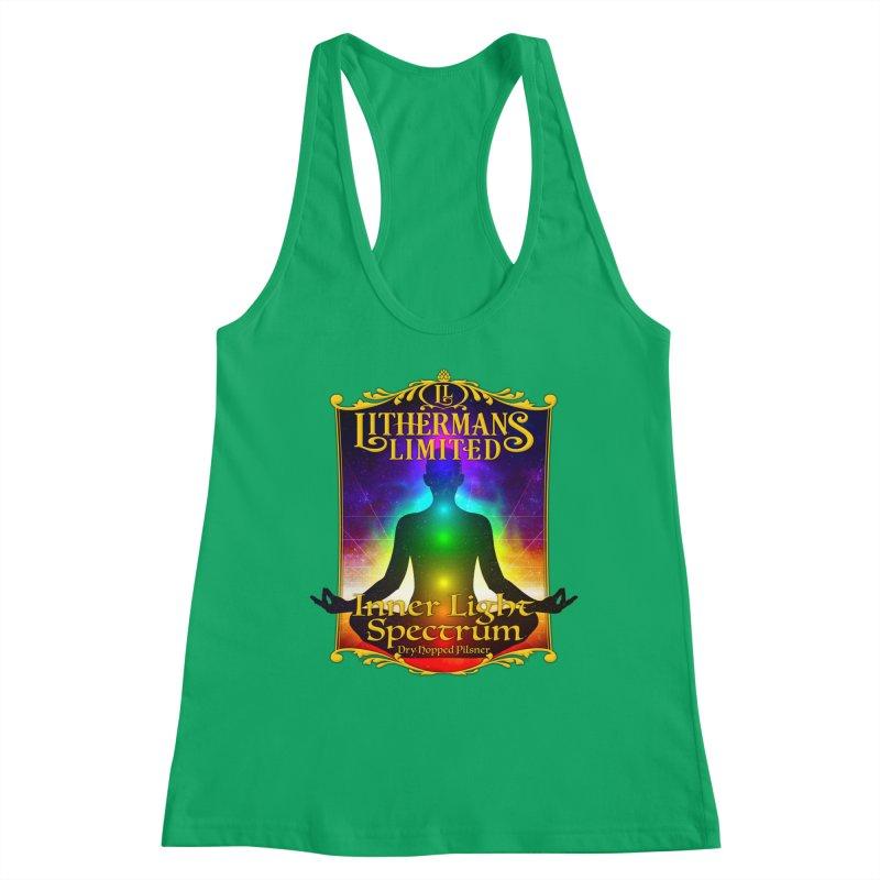 Inner Light Spectrum Women's Tank by Lithermans Limited Print Shop