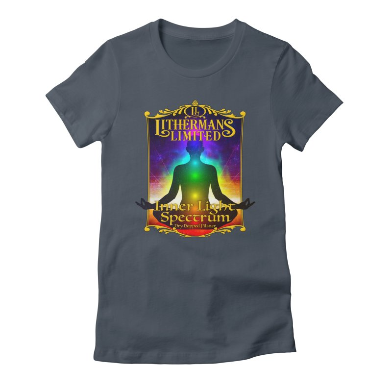 Inner Light Spectrum Women's T-Shirt by Lithermans Limited Print Shop