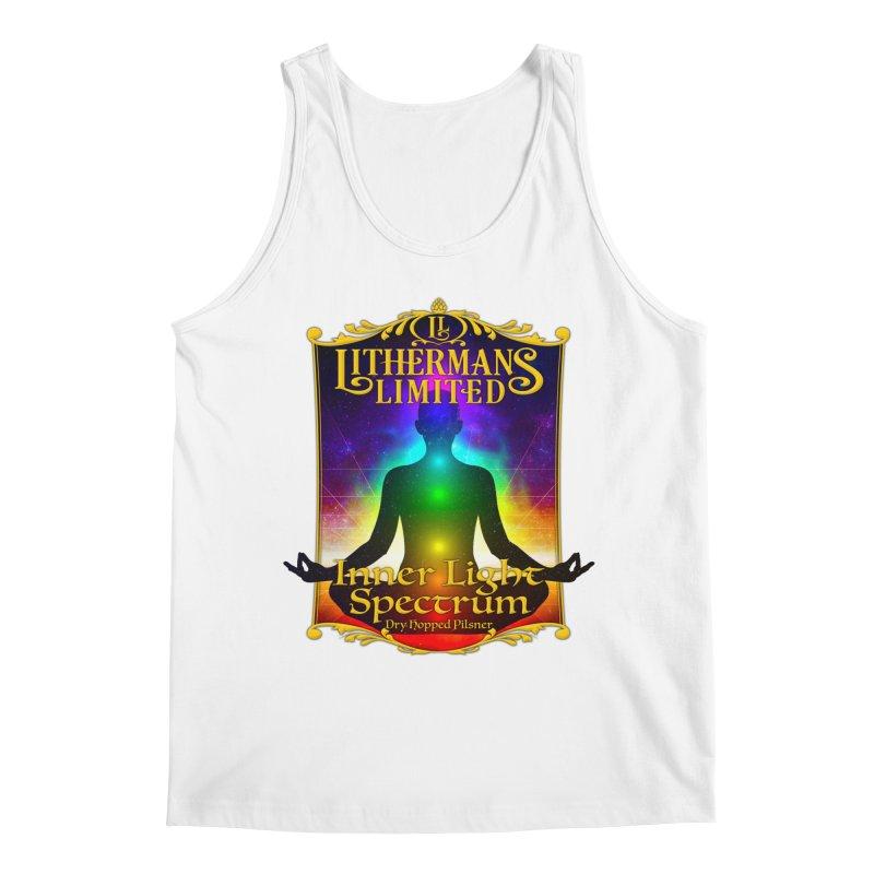 Inner Light Spectrum Men's Regular Tank by Lithermans Limited Print Shop