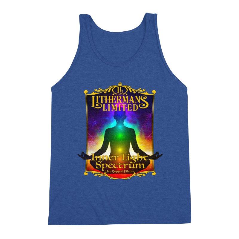 Inner Light Spectrum Men's Tank by Lithermans Limited Print Shop