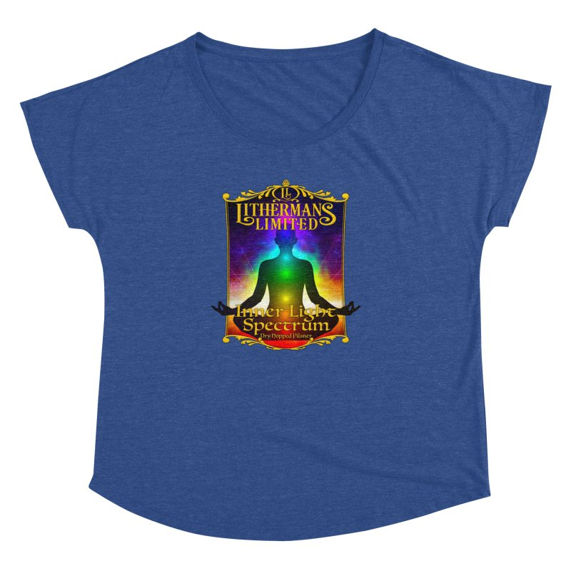Inner Light Spectrum Women's Dolman Scoop Neck by Lithermans Limited Print Shop