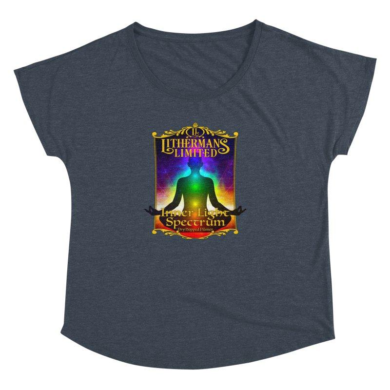 Inner Light Spectrum Women's Dolman Scoop Neck by Lithermans Limited Print Shop