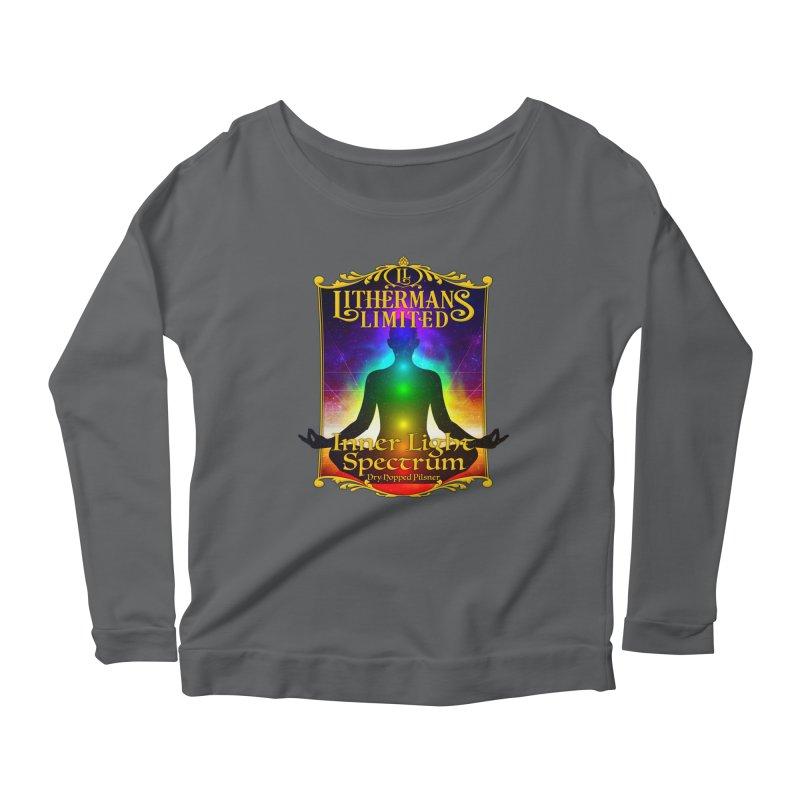 Inner Light Spectrum Women's Scoop Neck Longsleeve T-Shirt by Lithermans Limited Print Shop