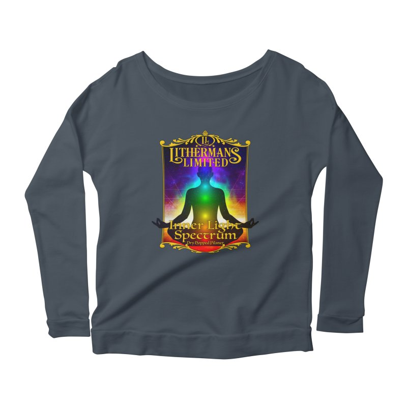 Inner Light Spectrum Women's Scoop Neck Longsleeve T-Shirt by Lithermans Limited Print Shop