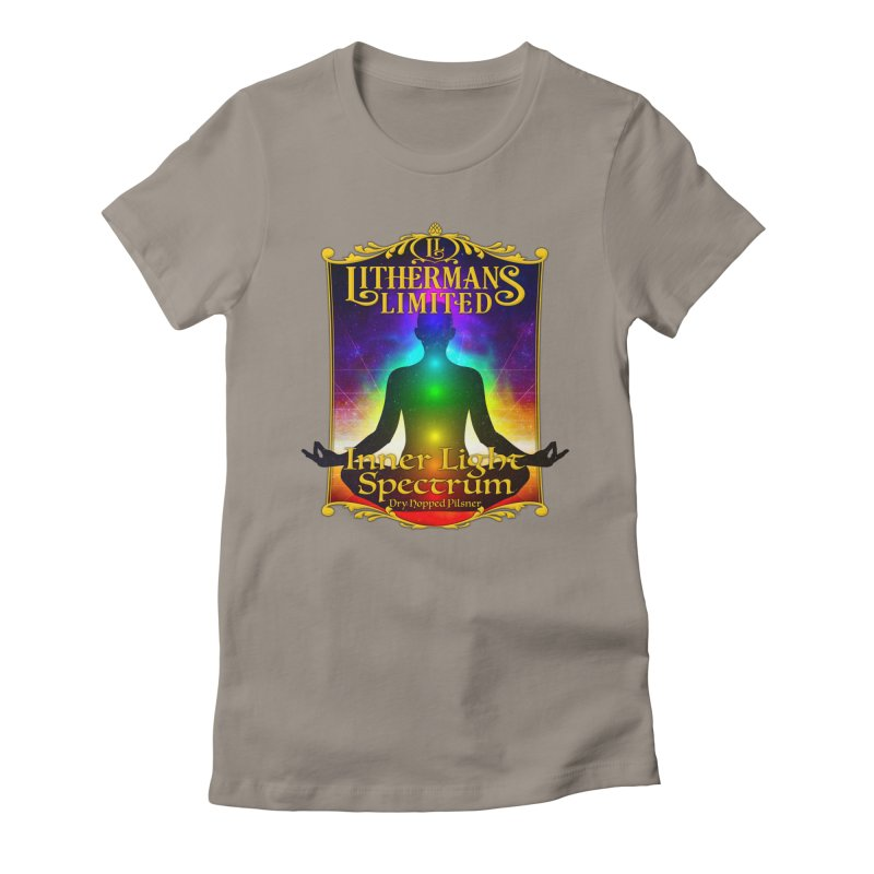 Inner Light Spectrum Women's Fitted T-Shirt by Lithermans Limited Print Shop
