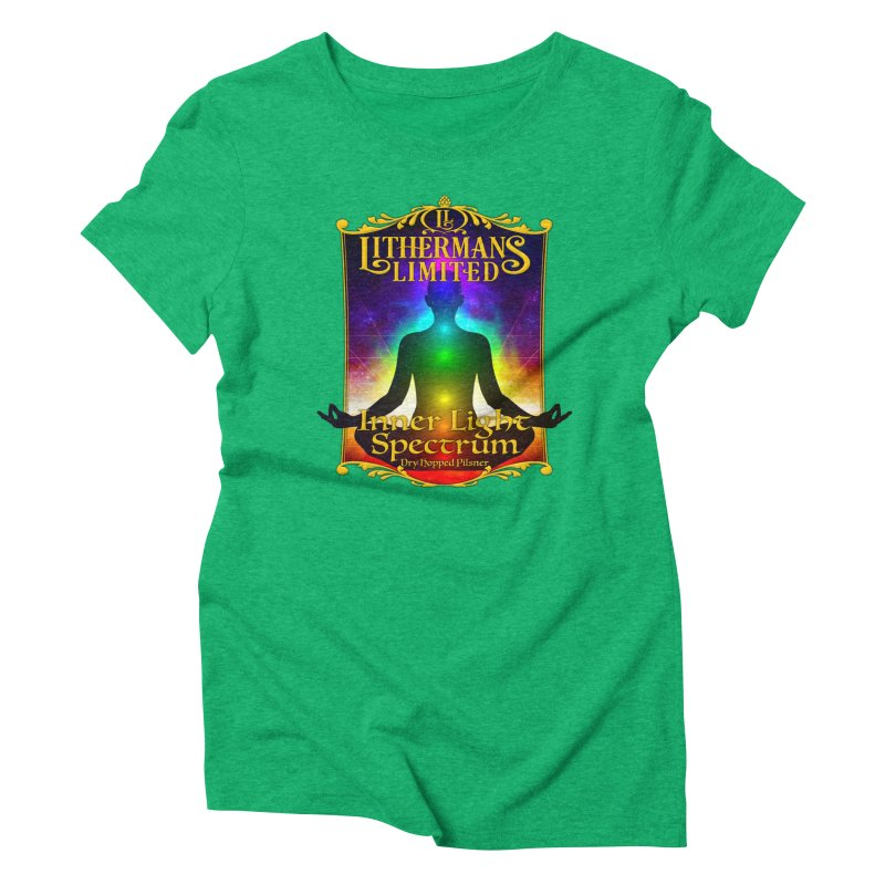 Inner Light Spectrum Women's Triblend T-Shirt by Lithermans Limited Print Shop
