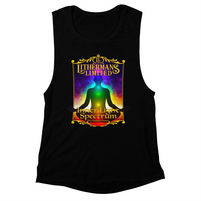 Inner Light Spectrum Women's Muscle Tank by Lithermans Limited Print Shop