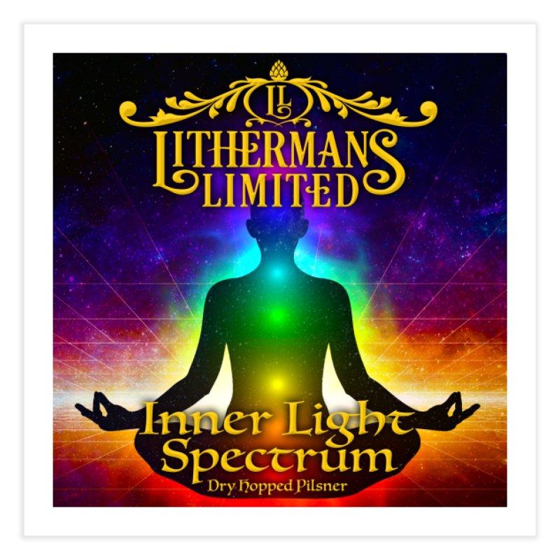 Inner Light Spectrum Home Fine Art Print by Lithermans Limited Print Shop