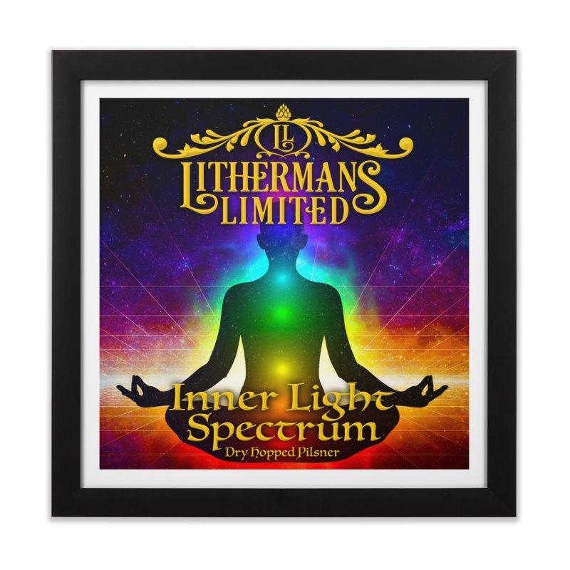 Inner Light Spectrum Home Framed Fine Art Print by Lithermans Limited Print Shop