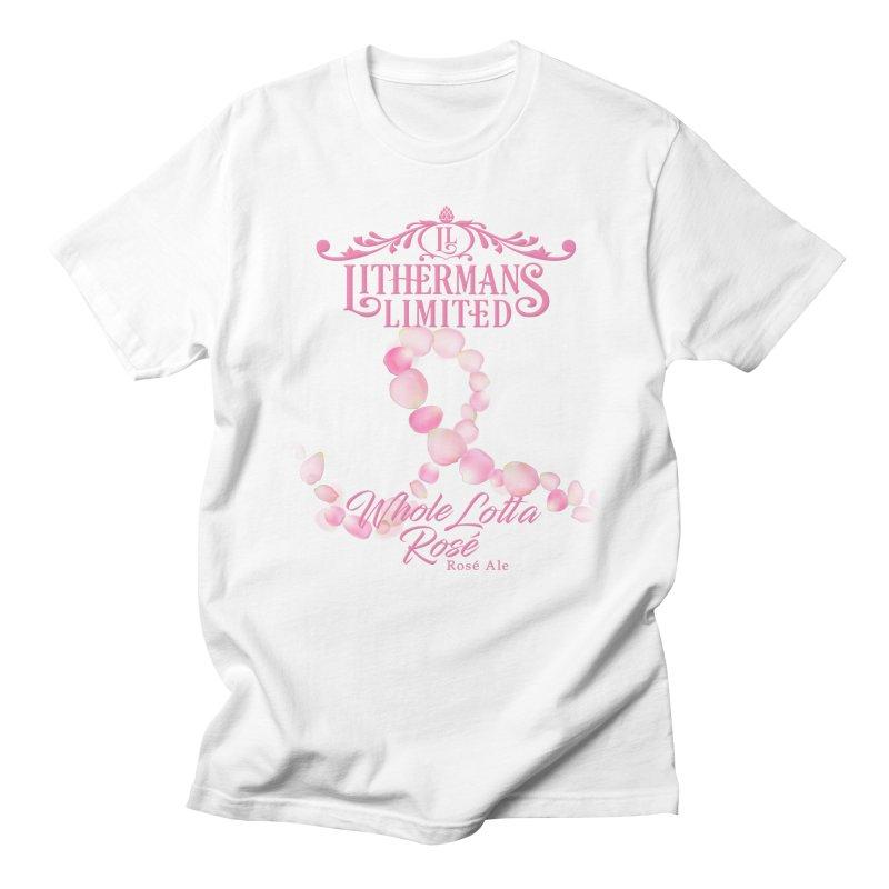Whole Lotta Rosé Men's T-Shirt by Lithermans Limited Print Shop