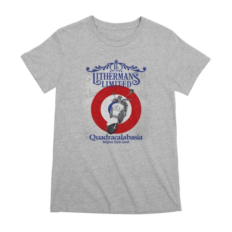 Quadracalabasia Women's Premium T-Shirt by Lithermans Limited Print Shop