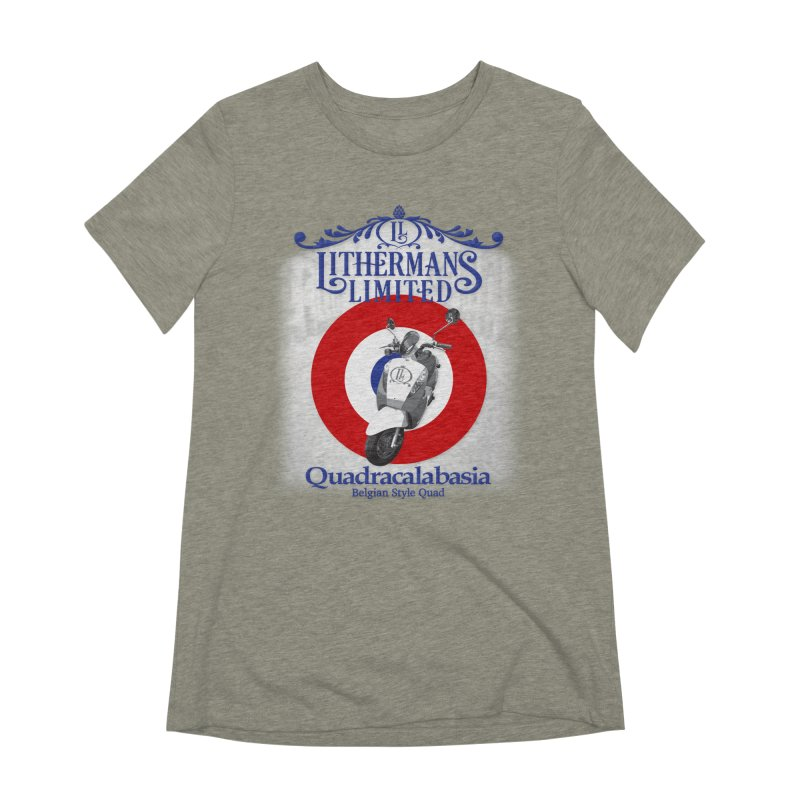 Quadracalabasia Women's Extra Soft T-Shirt by Lithermans Limited Print Shop