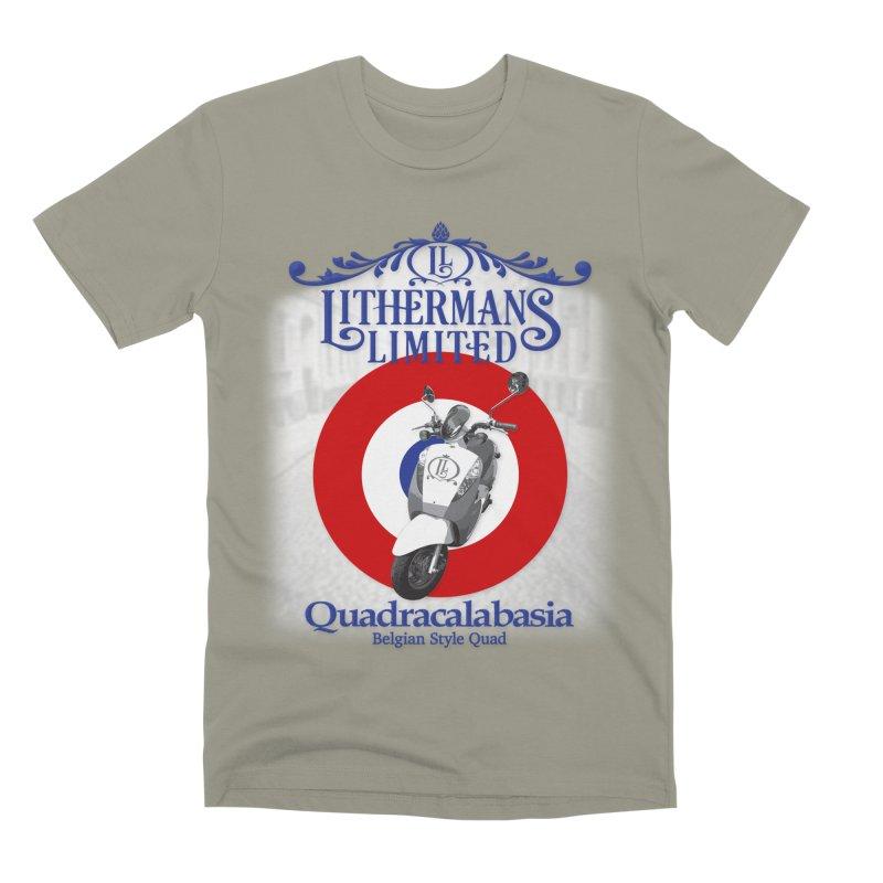 Quadracalabasia Men's Premium T-Shirt by Lithermans Limited Print Shop