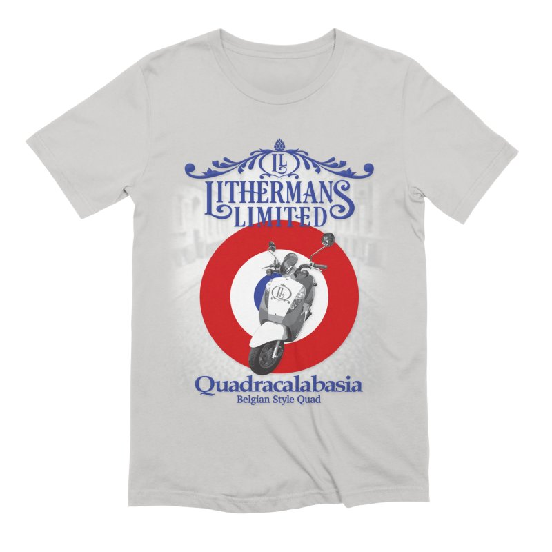 Quadracalabasia Men's Extra Soft T-Shirt by Lithermans Limited Print Shop