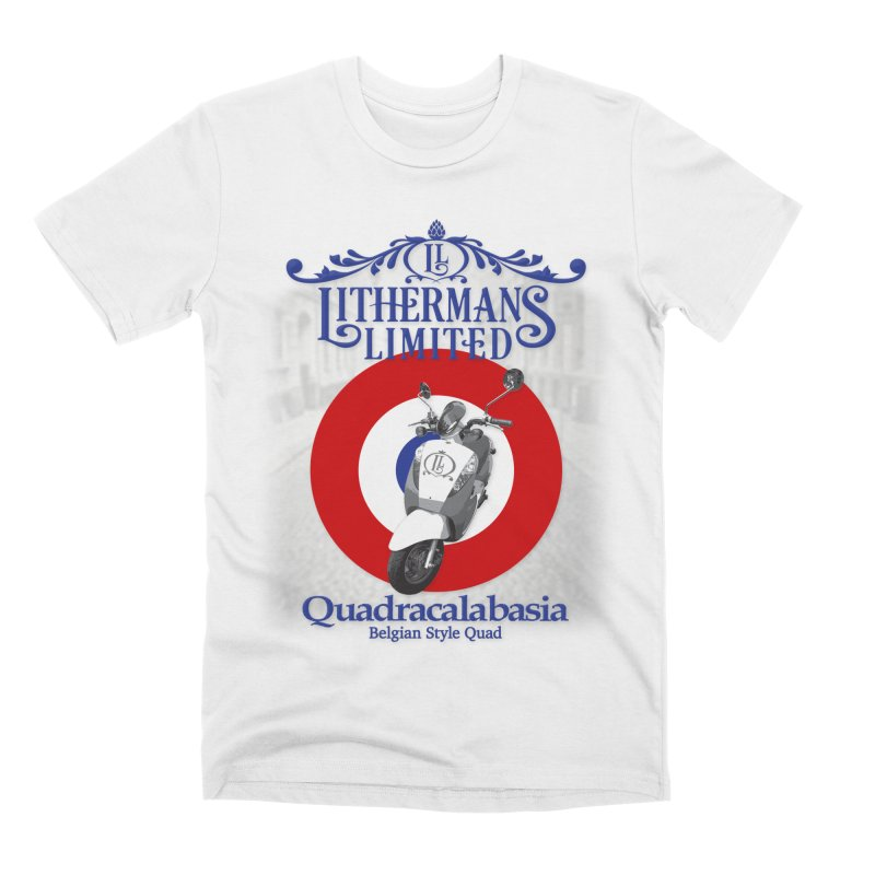 Quadracalabasia Men's T-Shirt by Lithermans Limited Print Shop