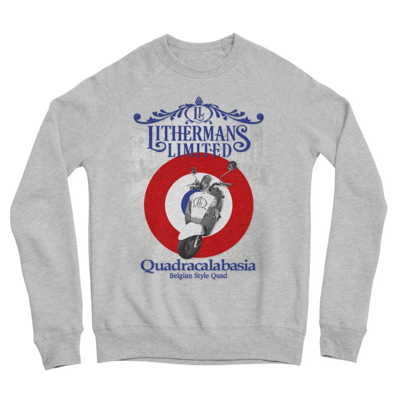 Quadracalabasia Men's Sponge Fleece Sweatshirt by Lithermans Limited Print Shop