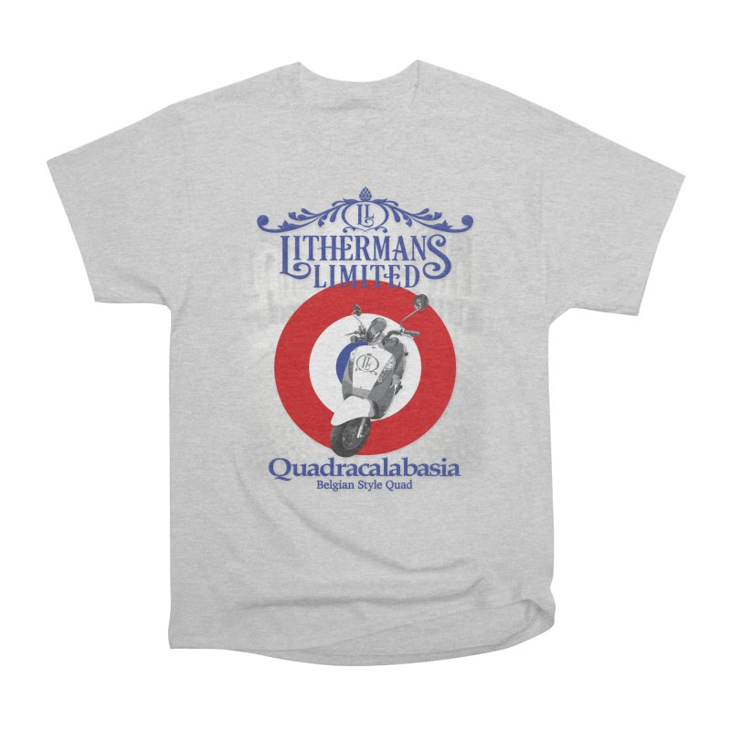 Quadracalabasia Men's Heavyweight T-Shirt by Lithermans Limited Print Shop