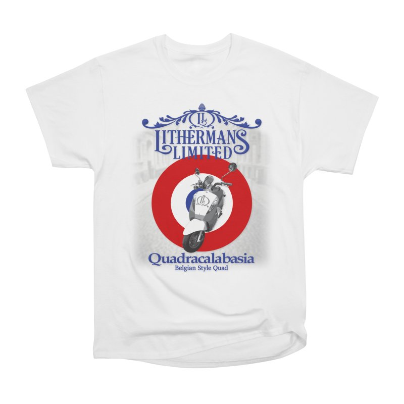 Quadracalabasia Women's Heavyweight Unisex T-Shirt by Lithermans Limited Print Shop