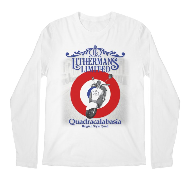 Quadracalabasia Men's Regular Longsleeve T-Shirt by Lithermans Limited Print Shop