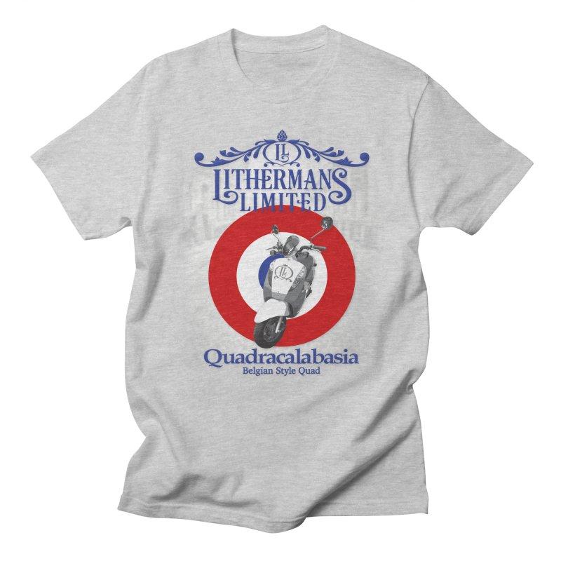 Quadracalabasia Men's T-Shirt by Lithermans Limited Print Shop