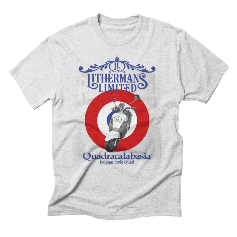 Quadracalabasia Men's Triblend T-Shirt by Lithermans Limited Print Shop