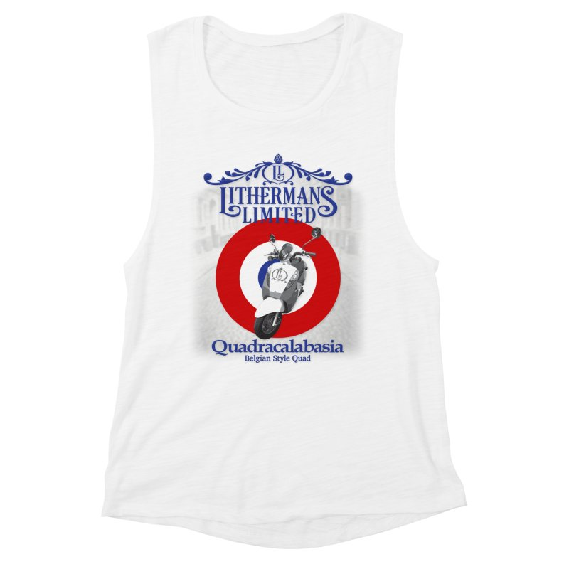 Quadracalabasia Women's Muscle Tank by Lithermans Limited Print Shop