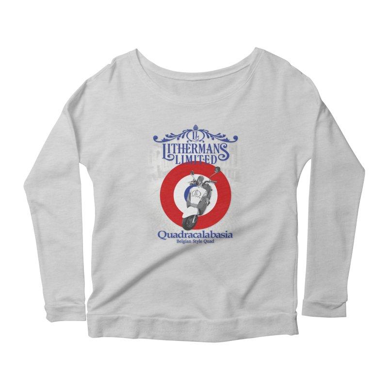 Quadracalabasia Women's Scoop Neck Longsleeve T-Shirt by Lithermans Limited Print Shop