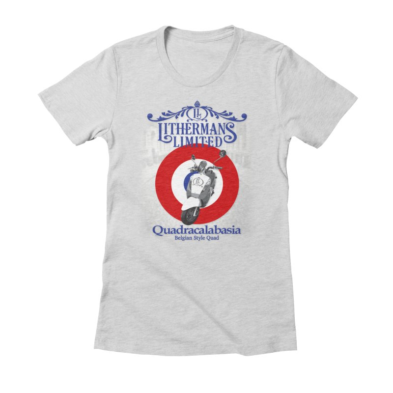 Quadracalabasia Women's Fitted T-Shirt by Lithermans Limited Print Shop