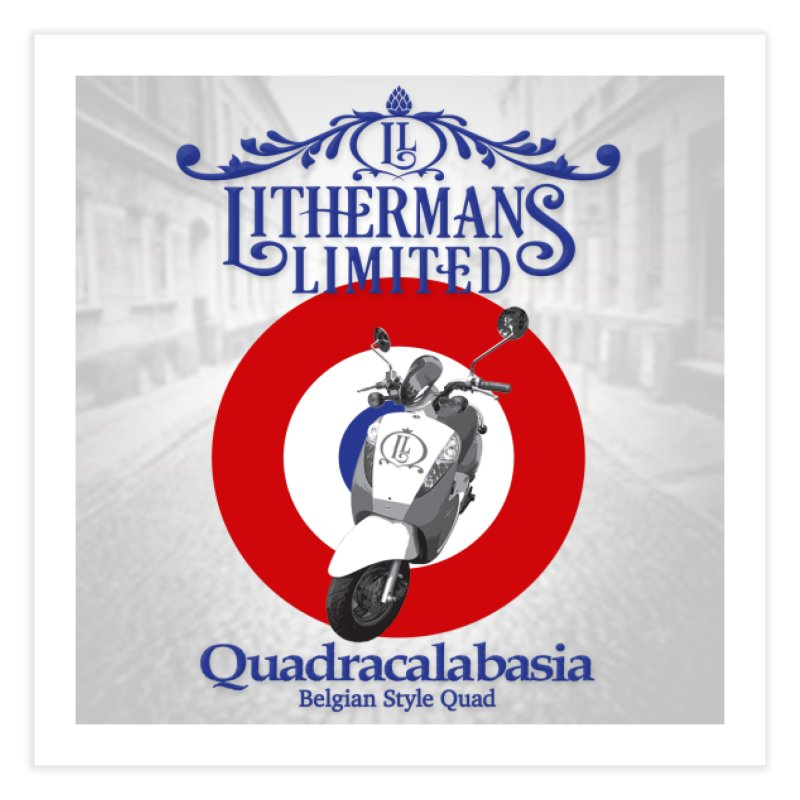 Quadracalabasia Home Fine Art Print by Lithermans Limited Print Shop