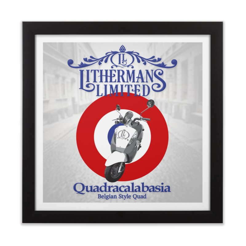 Quadracalabasia Home Framed Fine Art Print by Lithermans Limited Print Shop