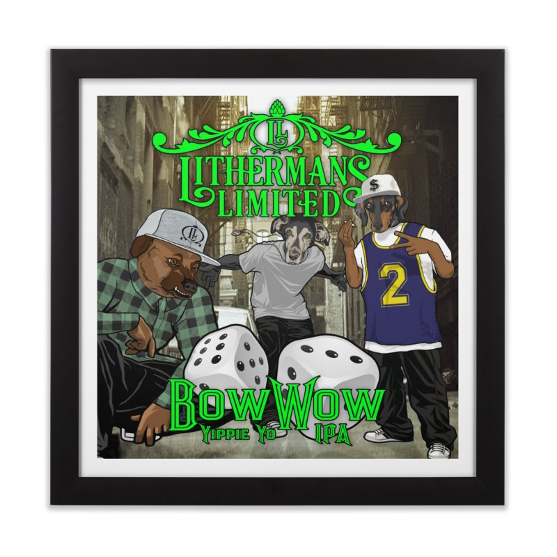 Bow Wow - New School Home Framed Fine Art Print by Lithermans Limited Print Shop