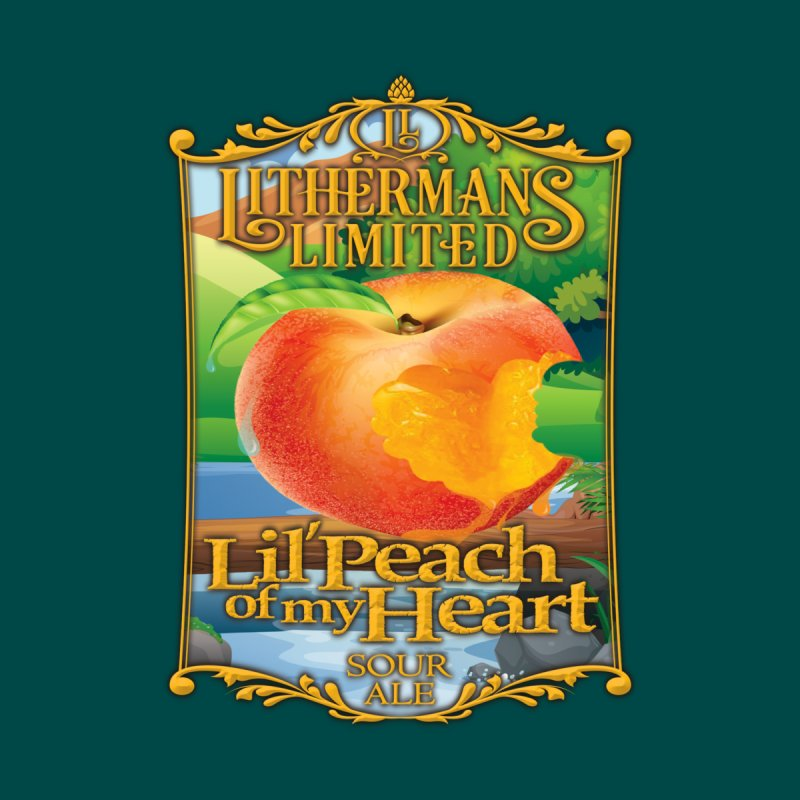 Lil' Peach of my Heart by Lithermans Limited Print Shop