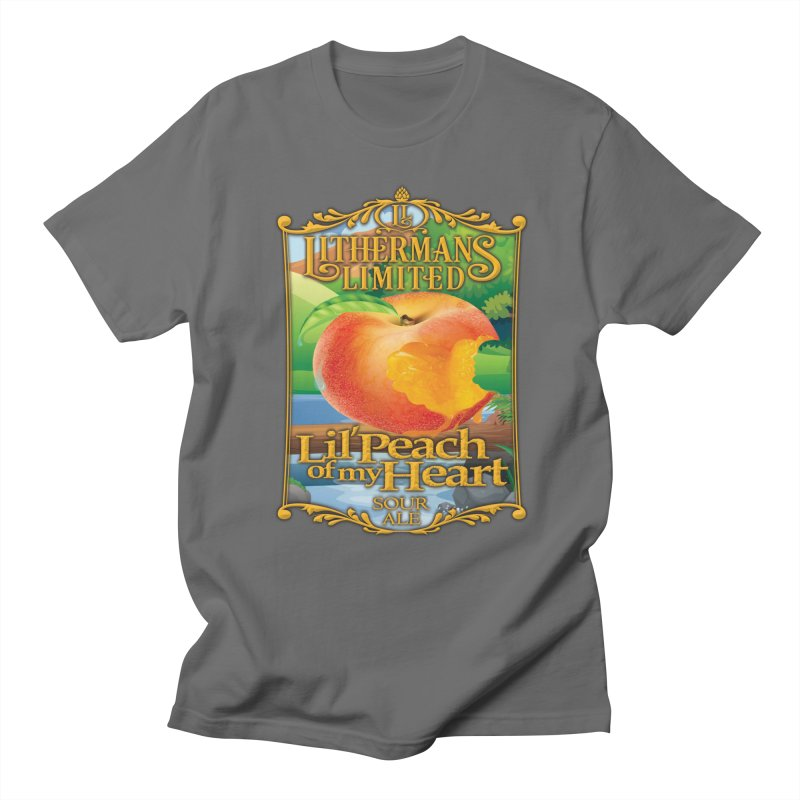 Lil' Peach of my Heart Men's T-Shirt by Lithermans Limited Print Shop