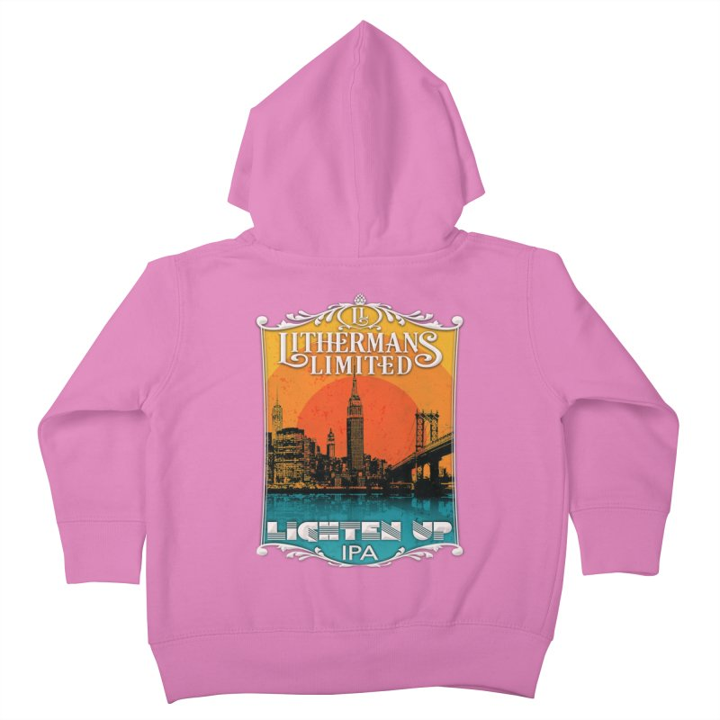 Lighten Up Kids Toddler Zip-Up Hoody by Lithermans Limited Print Shop