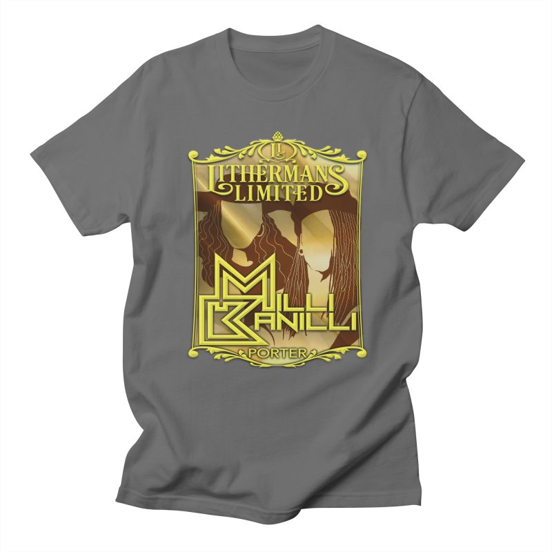 Milli Banilli Men's T-Shirt by Lithermans Limited Print Shop