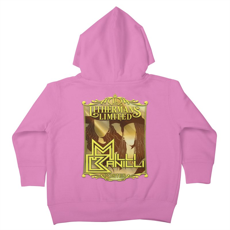 Milli Banilli Kids Toddler Zip-Up Hoody by Lithermans Limited Print Shop