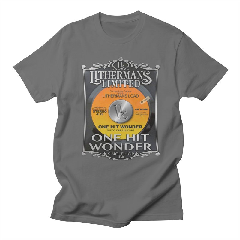 One Hit Wonder Men's T-Shirt by Lithermans Limited Print Shop