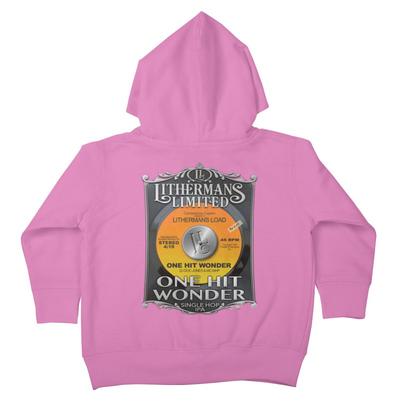 One Hit Wonder Kids Toddler Zip-Up Hoody by Lithermans Limited Print Shop